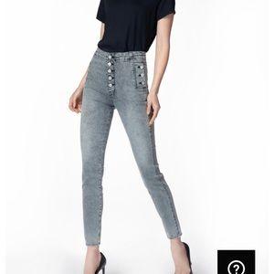 J Brand Natasha Sky-High Jeans Infidelity, 23, NWT